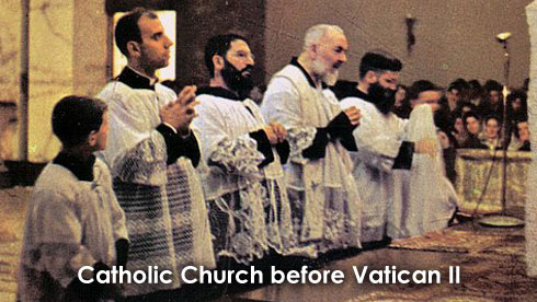Catholic Church before Vatican II
