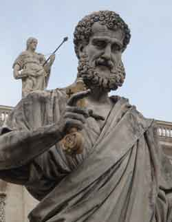 St. Peter, the first Pope