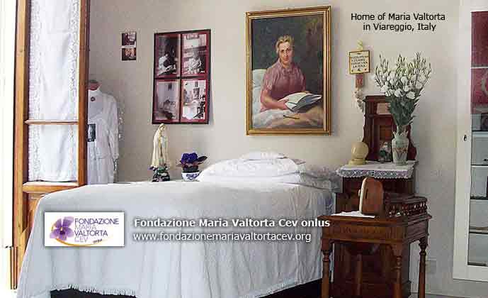 Home of Maria Valtorta in Viareggio, Italy