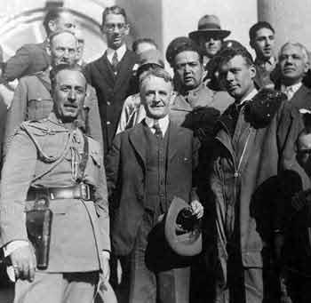Ambassador Morrow, Lindbergh, Mexico