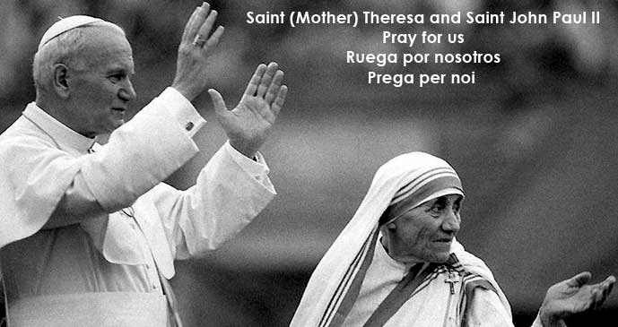 Saint (Mother) Theresa