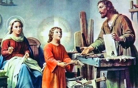 Saint Joseph the carpenter