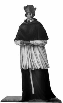 Sacerdote del 17 e 18 secolo